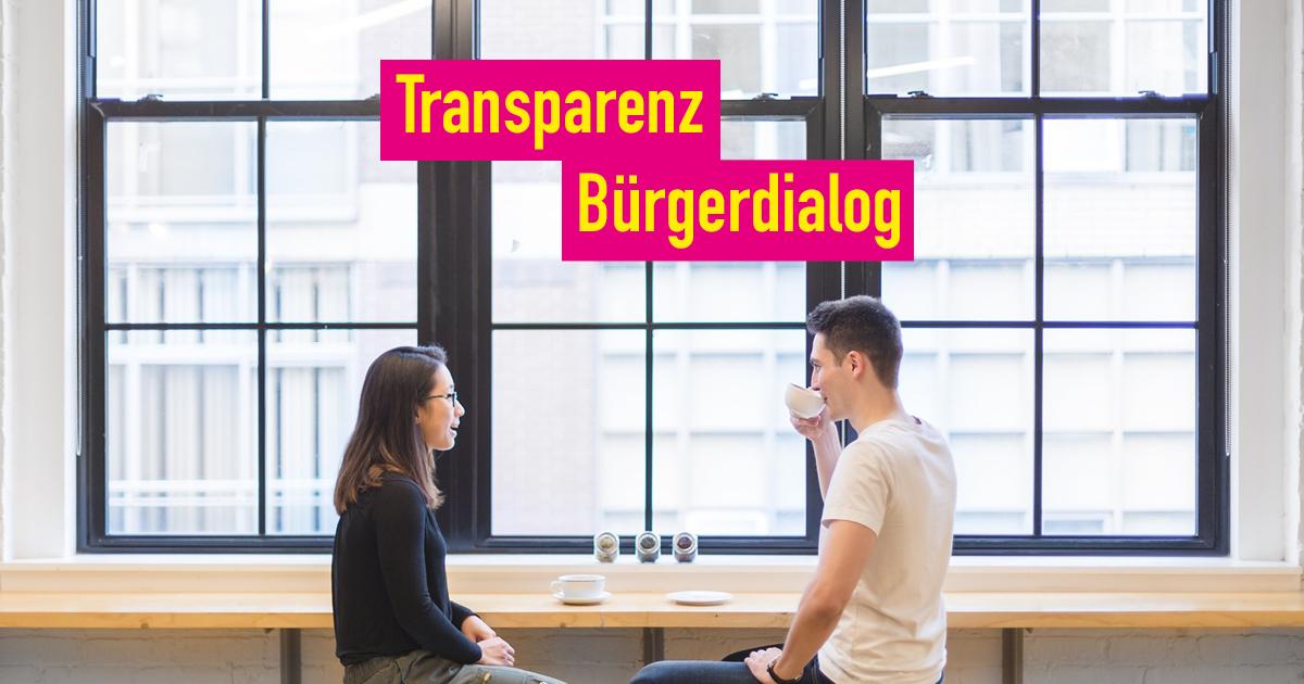Antrag – Transparenz und Bürgerdialog in der Landeshauptstadt Schwerin stärken