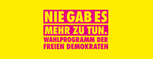 Read more about the article FDP Wahlprogramm zur Bundestagswahl 2021