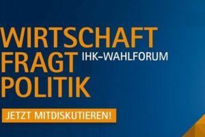 Read more about the article Unternehmer fragen, Politiker antworten. IHK-Wahlforum mit den Direktkandidaten zur Landtagswahl in M-V